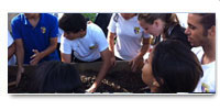 DR Environmental Film Festival Bring School Vegetable Garden Initiative to the Loyola and Calazans Schools in Santo Domingo