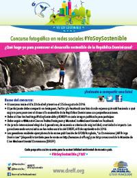 #YoSoySostenible Photos and Videos Competition through Social Media